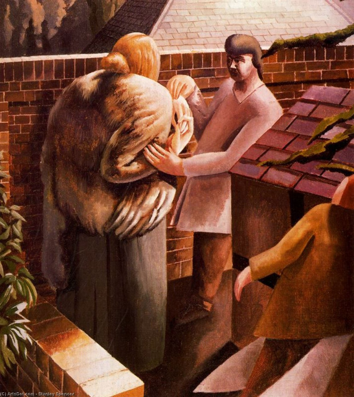 ザー 会議  バイ Stanley Spencer (1891-1959, United Kingdom)