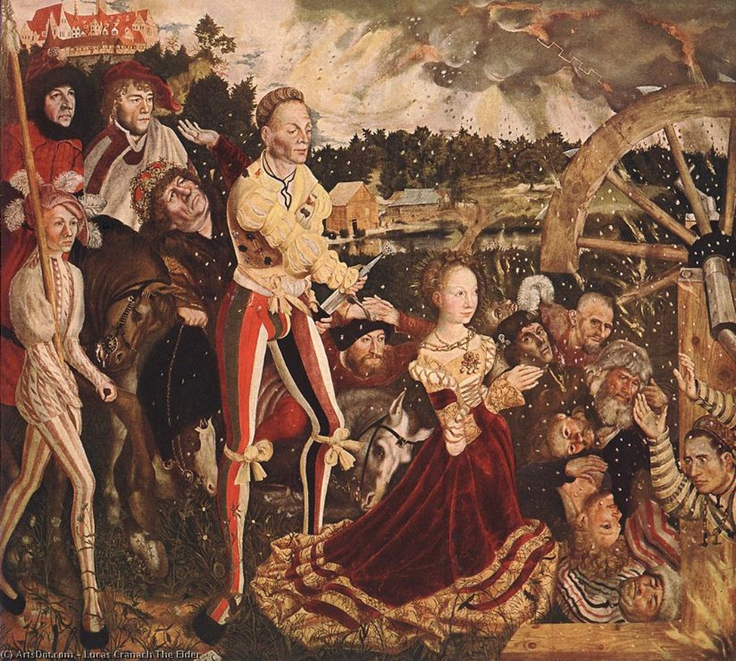 無題 7205   バイ Lucas Cranach The Elder (1472-1553, Germany)