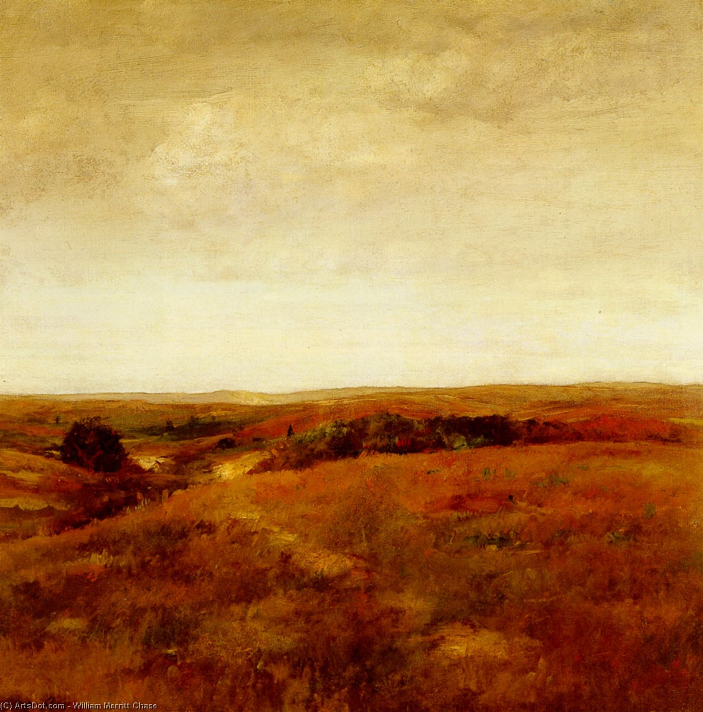 月, 1893 バイ William Merritt Chase (1849-1916, United States) | 入りジクレー | ArtsDot.com