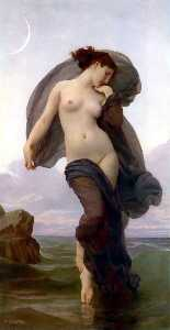 William Adolphe Bouguereau - 夕方ムード