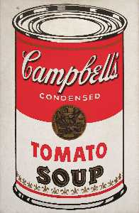 Andy Warhol - Campbell-S スープ缶 ( トマト )