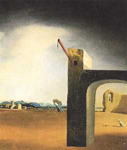 Salvador Dali - -Morphological Echo- , 年頃 1936
