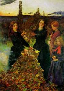 John Everett Millais - 紅葉