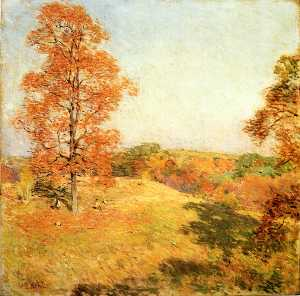 Willard Leroy Metcalf - ナットの収集