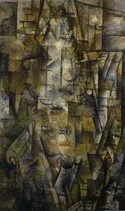 Georges Braque - 女性 読書