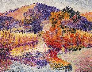 Henri Edmond Cross - サンCIRの川