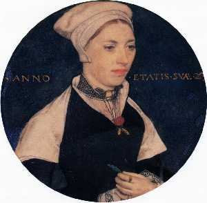 Hans Holbein The Younger - 夫人ペンバートン