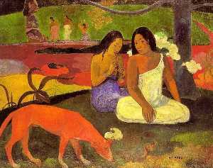 Paul Gauguin - Arearea 私