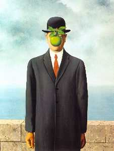 Rene Magritte - 人の子