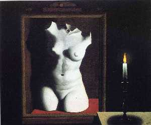 Rene Magritte - ザー ライト  の  偶然