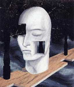 Rene Magritte - ザー 顔 の  天才