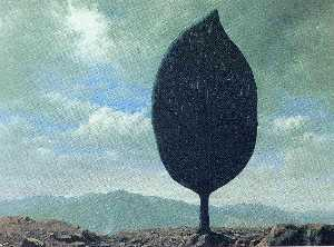 Rene Magritte - 平野 の  空気