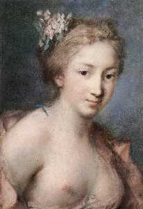 Rosalba Carriera - フローラ
