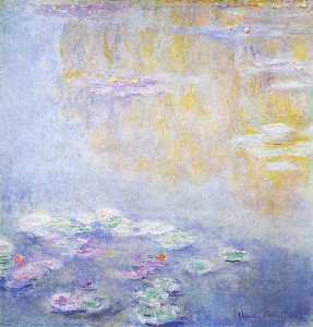 Claude Monet - Water-Lilies ( 22 )