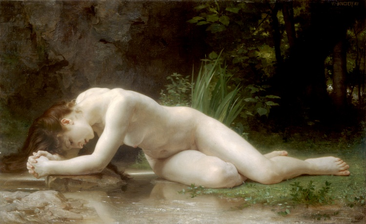 ビブリス, 1884 バイ William Adolphe Bouguereau (1825-1905, France) | 「アート再現 William Adolphe Bouguereau | ArtsDot.com