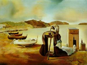 Salvador Dali - ザー 離乳 の Furniture-Nutrition , 1934