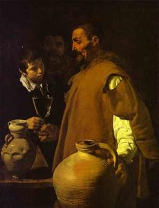 Diego Velazquez - セビリアのWaterseller