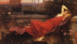 John William Waterhouse - アリアドネ