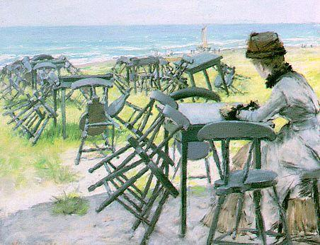 終わり の `season` バイ William Merritt Chase (1849-1916, United States) | 入りジクレー | ArtsDot.com