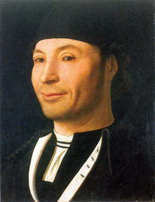 男の肖像 6  , オイル バイ Antonello Di Giovanni Di Antonio (Antonello Da Messina) (1430-1479, Italy)