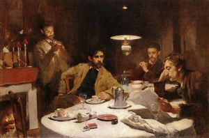 Willard Leroy Metcalf - テンセント朝食