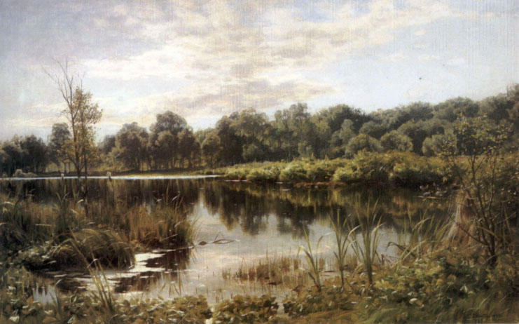 Bollemosen バイ Peder Mork Monsted (1859-1941, Denmark) | 絵画の複製 | ArtsDot.com