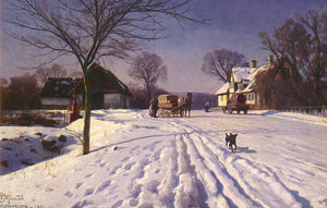 Peder Mork Monsted - Lindenborg Kroの