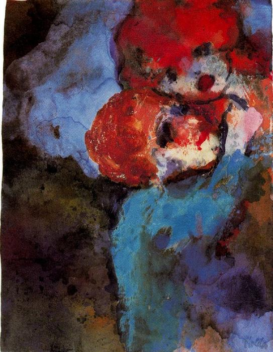 友人 バイ Emile Nolde (1867-1956, Germany)