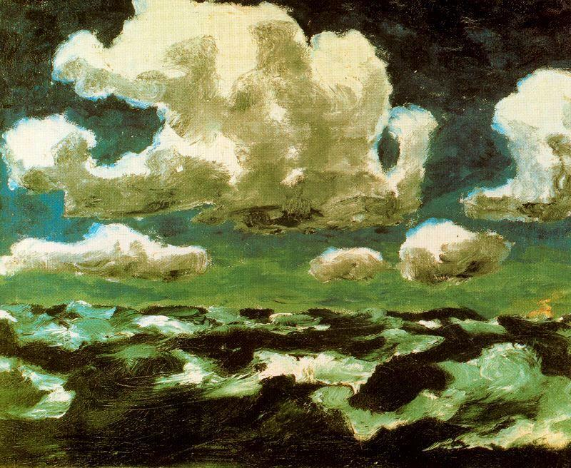 夏 雲 バイ Emile Nolde (1867-1956, Germany)