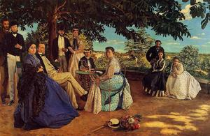 Jean Frederic Bazille - 家族の集い