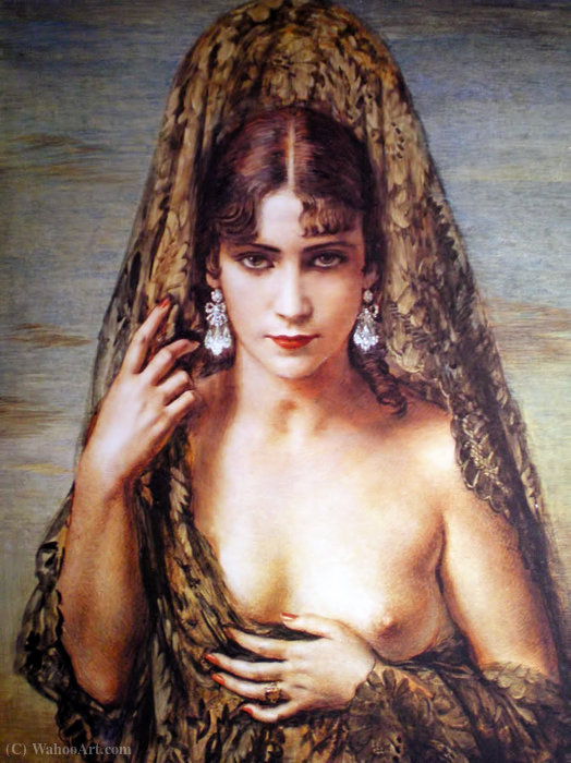Idolo エテルノ バイ Jorge Apperley (George Owen Wynne Apperley) (1884-1960, United Kingdom)