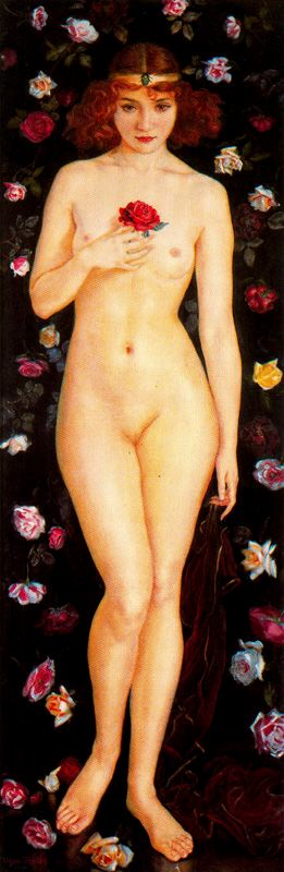 グラナダのバラ バイ Jorge Apperley (George Owen Wynne Apperley) (1884-1960, United Kingdom)