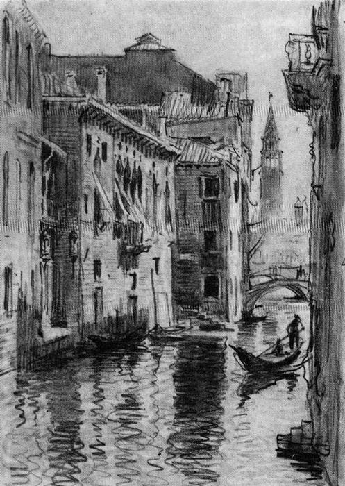 Venice 5 バイ Jorge Apperley (George Owen Wynne Apperley) (1884-1960, United Kingdom)