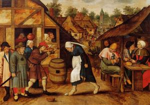 Pieter Bruegel The Younge.. - ザー 卵 踊り