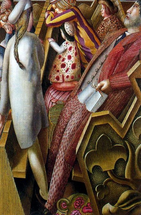 インチ 教会 バイ Stanley Spencer (1891-1959, United Kingdom)