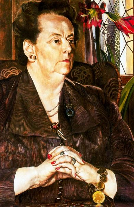 夫人フランクJP バイ Stanley Spencer (1891-1959, United Kingdom)