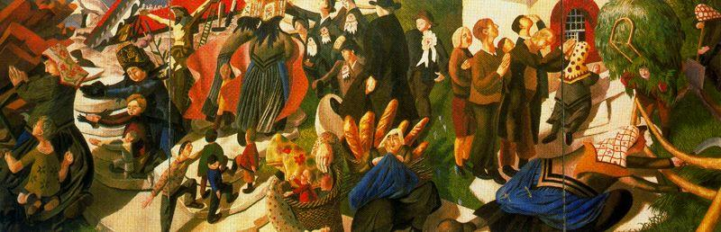 スイスのお土産 バイ Stanley Spencer (1891-1959, United Kingdom) | ArtsDot.com