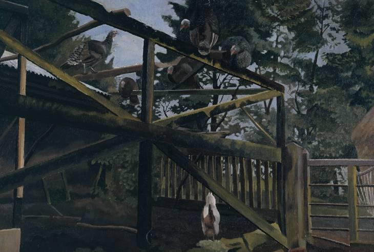 七面鳥2 バイ Stanley Spencer (1891-1959, United Kingdom)