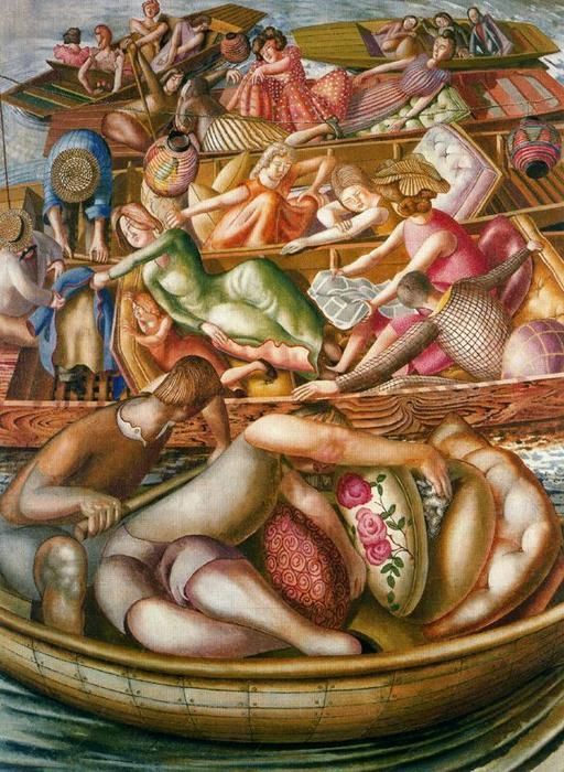 無題 6 バイ Stanley Spencer (1891-1959, United Kingdom)