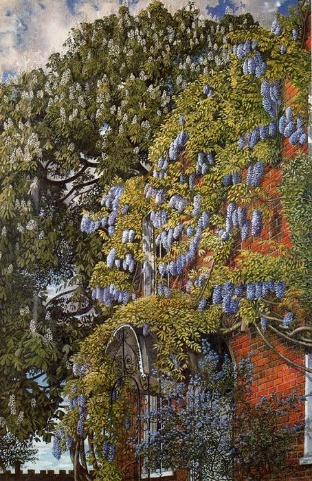 Englefieldで藤 バイ Stanley Spencer (1891-1959, United Kingdom)