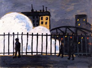 Auguste Chabaud - 北駅(Gare du Nord)