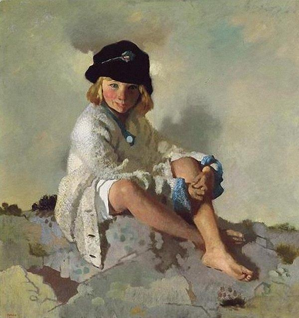 キット, 1913 バイ William Newenham Montague Orpen (1878-1931, Ireland)