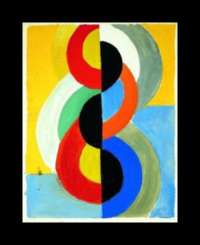 リズムカラー バイ Robert Delaunay (1885-1941, France)