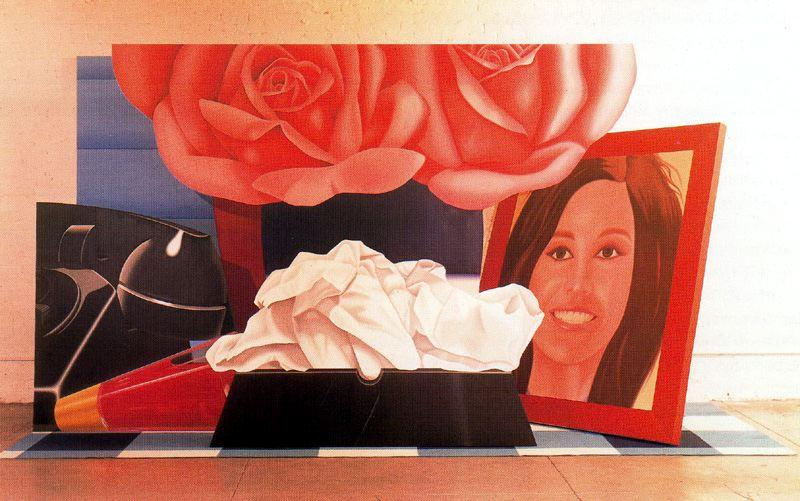 スティルライフ バイ Tom Wesselmann (1931-2004, United States)