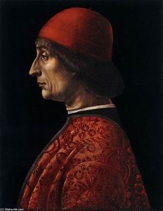 Vincenzo Foppa - 肖像画 of Giovanni Francesco Briv..