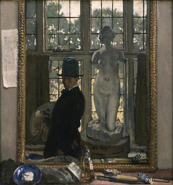 私と金星, 1910 バイ William Newenham Montague Orpen (1878-1931, Ireland)