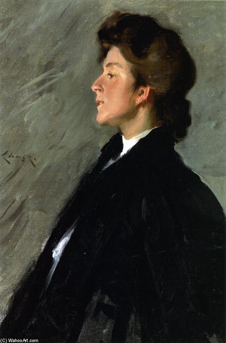 ミスBellemy(もミスBellemyとして知られている)の肖像, 1902 バイ William Merritt Chase (1849-1916, United States) | ArtsDot.com