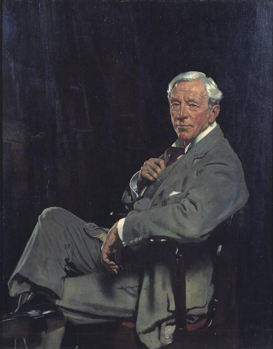 サー·ウィリアム·マコーミック, 1920 バイ William Newenham Montague Orpen (1878-1931, Ireland) | ArtsDot.com