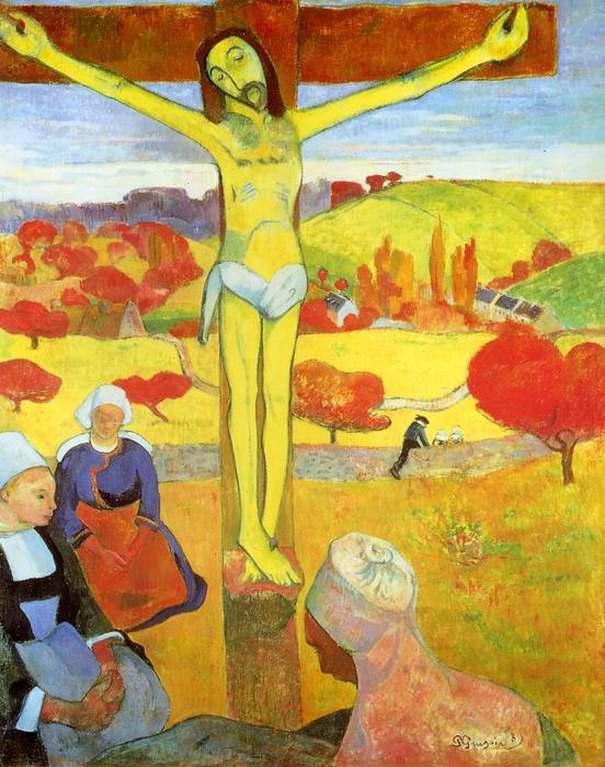 黄色 キリスト, 1889 バイ Paul Gauguin (1848-1903, France) | 絵画のコピー Paul Gauguin | ArtsDot.com