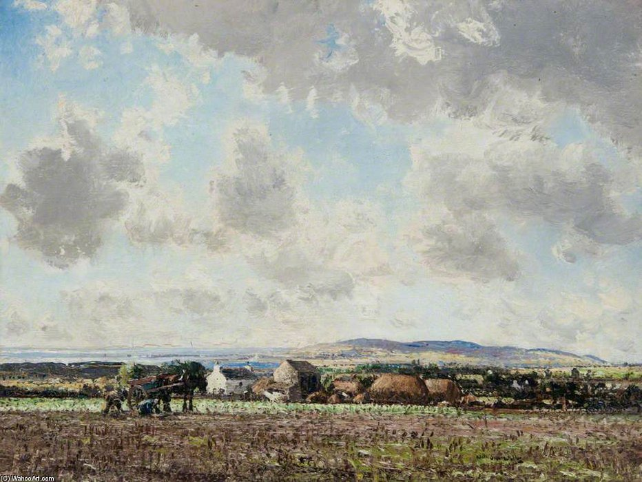 フィンの土地 バイ William Page Atkinson Wells (1871-1923, United Kingdom) | ArtsDot.com